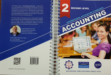 IAS Accounting: Second Level-Book-Keeping and Accounting <br> Kolarides Publications